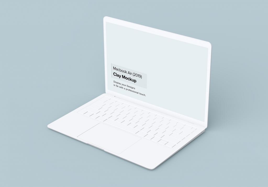 Macbook Air 电脑样机素材下载【PSD】