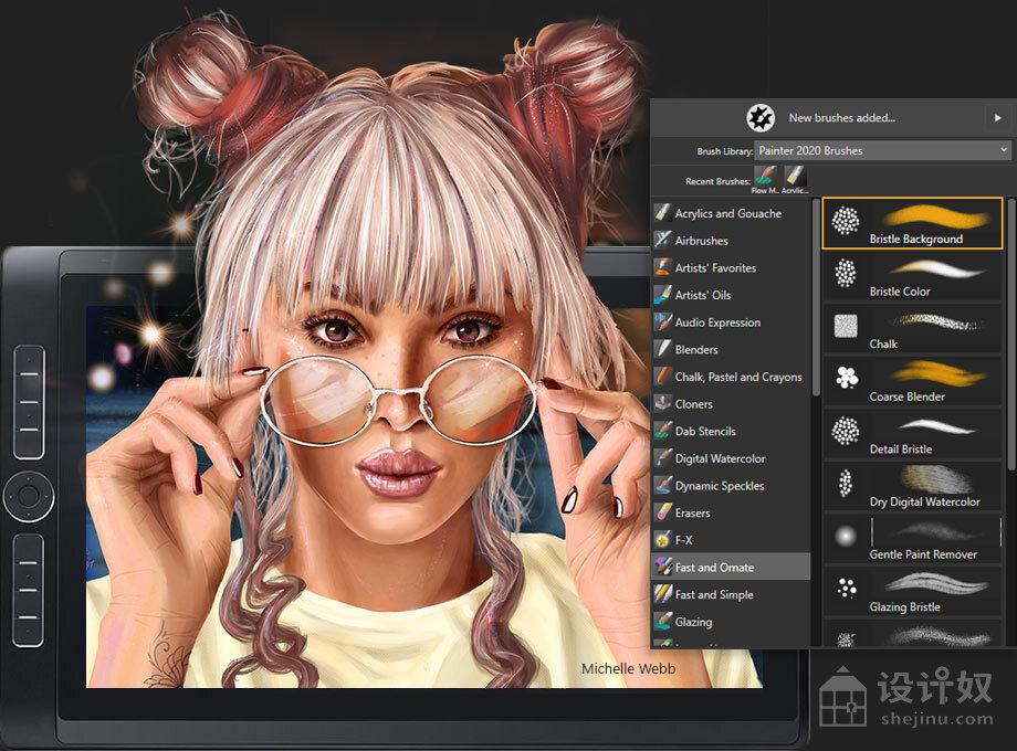 数字绘图软件 Corel Painter 2020 v20.1.0.284 汉化破解版