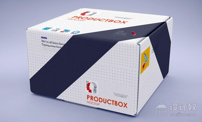 贴图模板 / 包装盒贴图 / YJbz_170708d