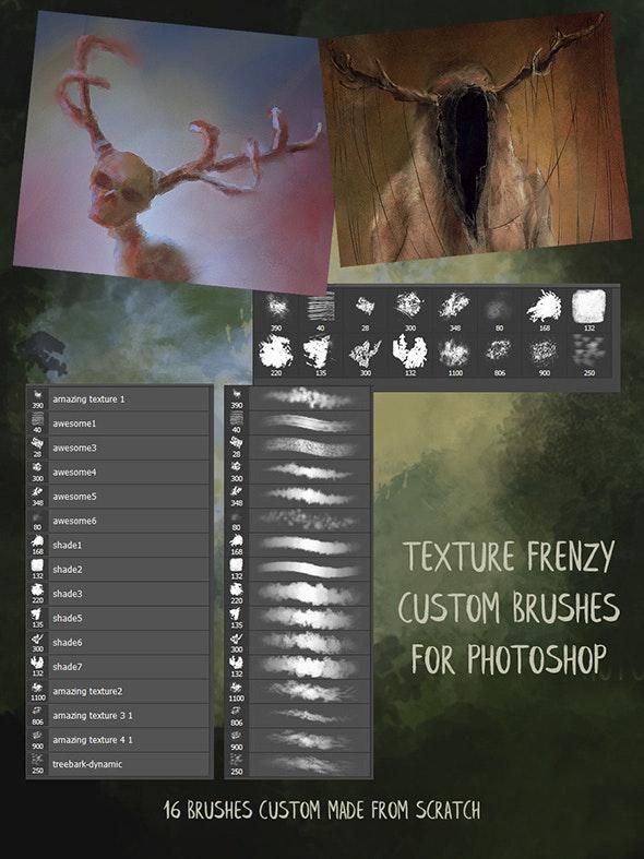 纹理Photoshop笔刷透明素材