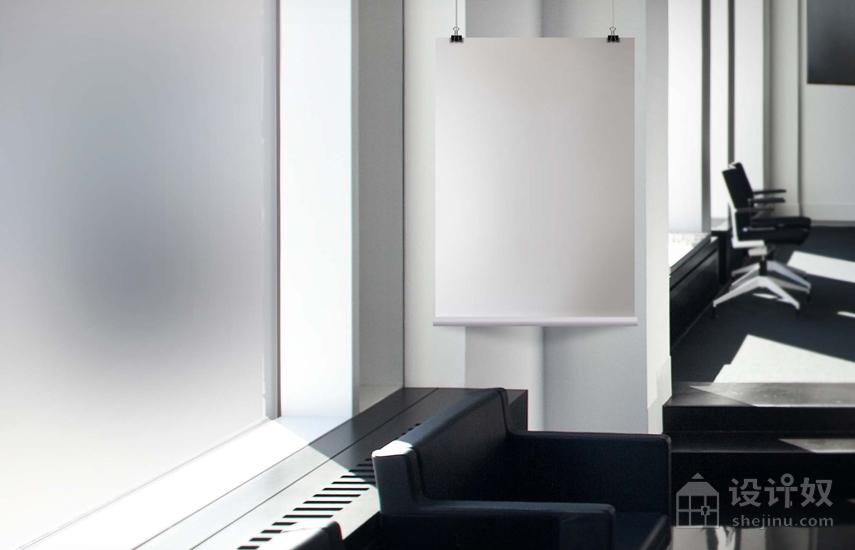 室内大幅海报展示模板 「4」