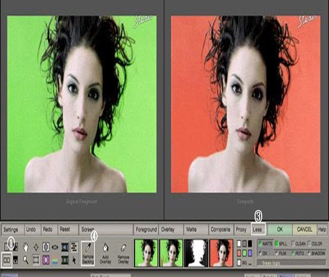 photoshop的顶级抠图滤镜插件 ultimatte advantEdge v1.61绿色版