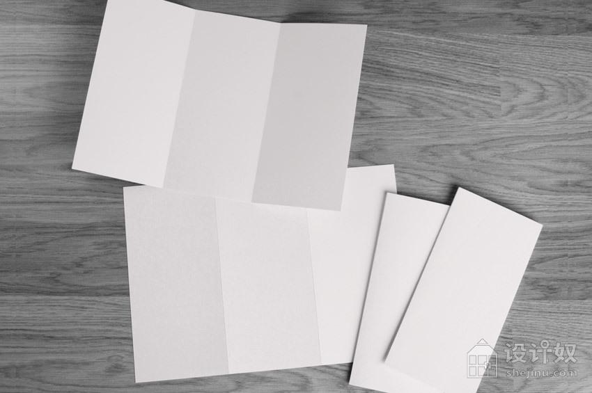 常用的三折页展示模板