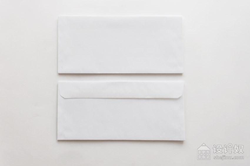 白色背景的 vi 展示模板3