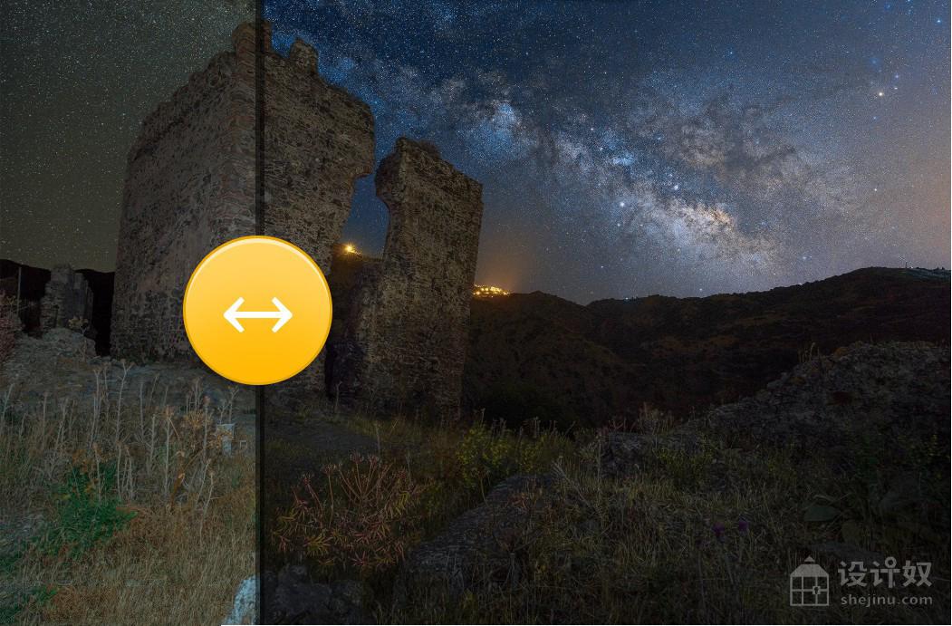 夜景星轨360全景风光大片调色扩展OrionH Plus Panel 1.2.1