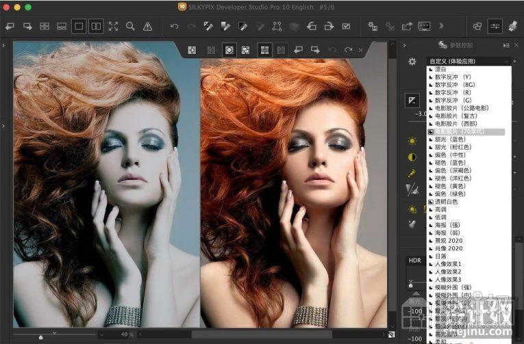 SILKYPIX Developer Studio Pro 10.0.13汉化版|RAW数码照片处理软件【WIN+MAC】