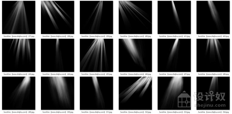 【免费】75张太阳光耶稣光云层光窗户光效PS叠加合成素材210912